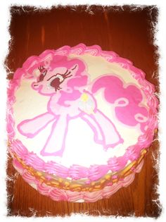 Pinkie Pie/ My little pony cake