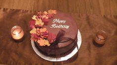 Fall Birthday Cake by The NGU Cake Lady, via Flickr Fall Theme Cakes, Fall Birthday Cakes, Fall Cakes, Themed Cakes, Cupcake Cakes, Cupcakes, Reception Food, Baby Time, Autumn Theme