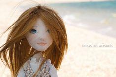 Handmade Ooak doll ''Mirto'' by Romantic Wonders Dolls Ooak Dolls, Art Dolls, Paper Clay, Fabric Art, Doll Clothes, Romantic, Creative, Puppets, Inspiration