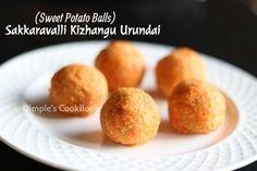 Sakkaravalli Kizhangu Urundai   Sweet Potato Balls/Ladoo – Step by Step pictured procedure Sakkaravalli Kizhangu (Seenikizhangu) Urundai is one of my favorite during school days. My mom alway…
