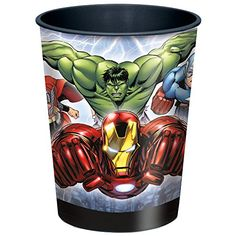 Marvels Avengers Plastic 16 oz Cup -- Find out more about the great product at the image link.Note:It is affiliate link to Amazon.