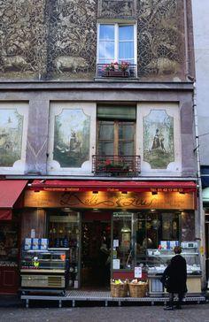 Rue Mouffetard, Paris 5e.