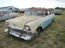 1956 Chevrolet Belair 4dr Sedan   Proxibid Auctions