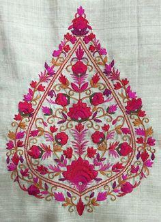 #indian #embroidery #designer #handwork #design #colourcombination #embellishments #fabrics #embroiderydesigns Indian Embroidery Designs, Embellishments, Bohemian Rug, Fabrics, Rugs, Color, Home Decor, Tejidos, Farmhouse Rugs
