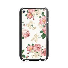 Red Peony iPod Touch 4G Case