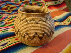 Native American antique Indian basket