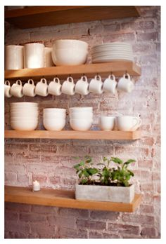 lovely storage for the kitchen