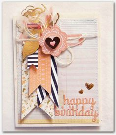 Emma's Paperie: Company Spotlight on Little B by Anabelle O'Malley Pretty Cards, Cute Cards, Diy Cards, Mini Albums, Marianne Design, Card Making Inspiration, Card Sketches, Happy Birthday Cards, Card Tags