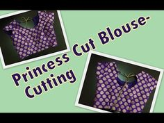 Princess Cut Blouse - Part 2 -Stitching - YouTube
