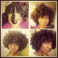 another twist out wish my hair would do this