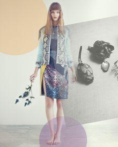 Rika magazine No. 8 Spring/Summer 2013 All Flowers Bend Towards The Sun Kirsi Pyrhonen byLowe Seger. Fashion editorAlexandra Carl.