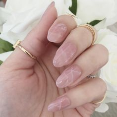 This Gorgeous Rose Quartz Nail Trend Will Be All Over Instagram Soon