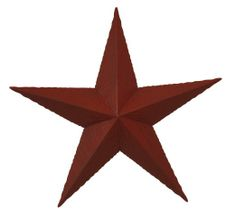 Barn Stars traditionally were a symbol of good luck and fortune.  Various colors represented different virtues. Their resurgence as a popular indoor and outdoor home and farm decoration still exhibits great old world charm. Available in different sizes and colors.