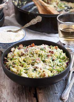Gluten Free Zucchini Noodle Carbonara Recipe