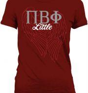 """Pi Phi """"little"""" shirt #piphi #pibetaphi"""
