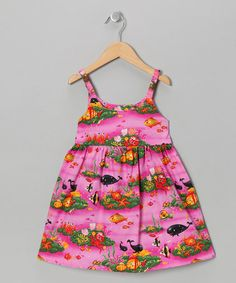 Take a look at this Pink Under the Sea Babydoll Dress - Toddler & Girls by RJC Girls on #zulily today!