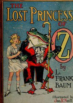 The Lost Princess of Oz by L. Frank Baum  Illustrated by Jon R. Neill  via http://vintageephemera.blogspot.com