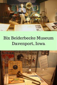Exploring the life of jazz cornetist Bix Beiderbecke at the new Bix Beiderbecke Museum in Davenport, Iowa. Bix Beiderbecke, Quad Cities, Road Trip With Kids, Cedar Rapids, Travel Inspiration, Character Inspiration, Day Trips, Family Travel, History