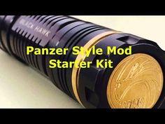 Panzer Style Mod Starter Kit - Black Hawk Black Hawk, Starter Kit, Vape, Style, Smoke, Swag, Electronic Cigarette, Vaping, Electronic Cigarettes