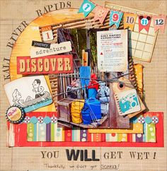 Great Blog, all Disney layouts #DisneyscrapbookpagesILOVE!
