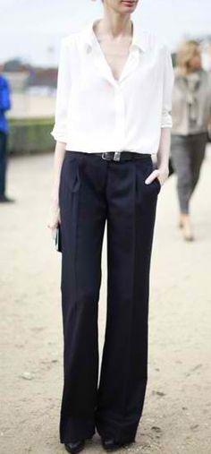 .Katherine Hepburn Wide-legs Pants