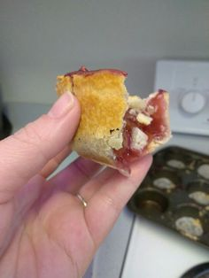 Easy peazy Mini Cherry Pies, Muffin Tins, Unsalted Butter, Sprinkles, Cinnamon, Baking, Breakfast, Easy, Food