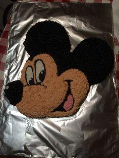 Wilton Mickey cake I made!
