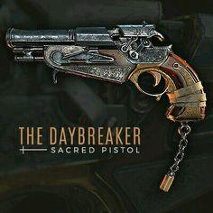 The Daybreaker - Sacred Pistol https://www.artstation.com/p/6B4ln Thomas Van Nuffel 3D Generalist - www.thomasvn.com -- Share via Artstation Android App, Artstation © 2016
