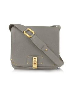 Grey purse...but with silver hardware