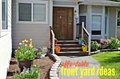 Affordable Front Yard Ideas