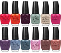 OPI Holland Collection Spring/Summer 2012