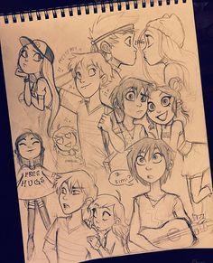 Page 2 ✔️ #characterdesign #angieocs
