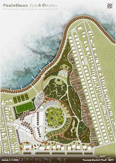 Pantelimon Sport Center -  Concept / Landscape Architecture Design
