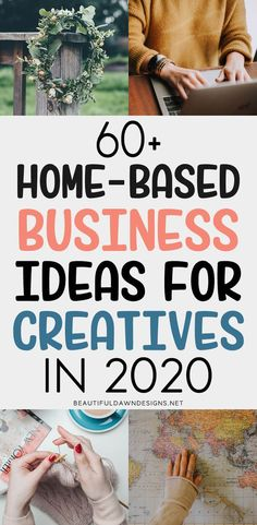 finance tips If youre looking for work from home business ideas for creative people, youve come to the right place. In this article, Im sharing work from home ideas for creatives. New Business Ideas, Work From Home Business, Starting Your Own Business, Work From Home Jobs, Make Money From Home, Creative Business, How To Make Money, Business Tips, Low Cost Business Ideas