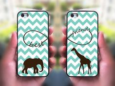 iPhone 5S case,Best Friends,iphone 5C case,iphone 5 case,iphone 4 case,iphone 4s,ipod case,Samsung and Blackberry Series,Elephant ,Giraffe @Kendall Glavan