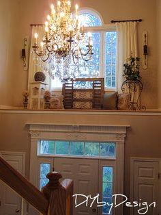 Colonial style home decor home tour - Debbiedoo's