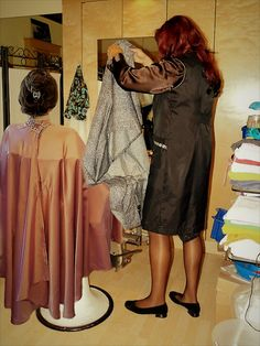 Nylons, Cape Gown, Staff Uniforms, Hair And Beauty Salon, Hairdressers, Barber Chair, Walk On, Slip, Blouse