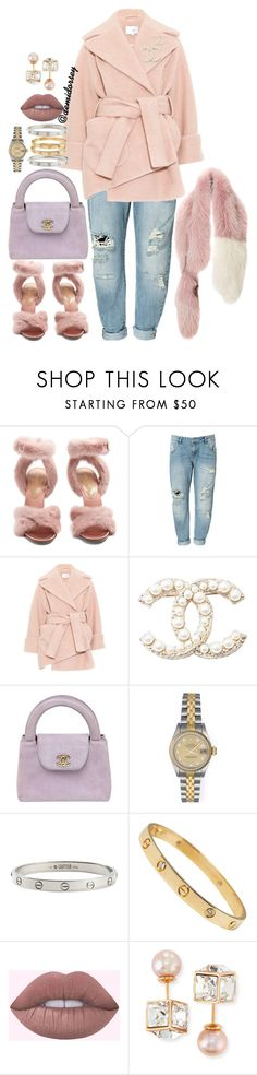 """""""Untitled #436"""" by thedemidorsey ❤ liked on Polyvore featuring Valentino, Zara, Carven, Chanel, Rolex, Cartier, Vita Fede and Marni"""