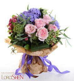 04290 — Lorashen My Flower, Fresh Flowers, Pretty Flowers, Bouquet Wrap, Hand Tied Bouquet, Boudoir Photography Poses, Flower Packaging, Flower Designs, Paper Flowers