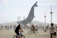 Burning Man Conquers 30 Years in Dusty Nevada Desert - NBC News