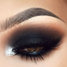 Close up of this look loves!!!  -Eye shadows BLACK OUT (mobile eyelid and below lower... | Use Instagram online! Websta is the Best Instagram Web Viewer!