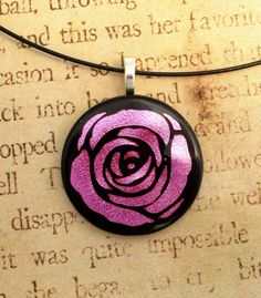 Hey, I found this really awesome Etsy listing at https://www.etsy.com/listing/154827331/rose-necklace-fused-glass-pendant