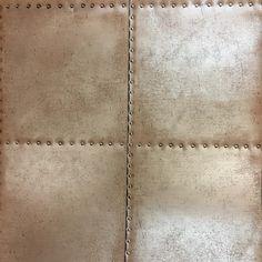 Fine Decor Loft Riveted Copper Wallpaper