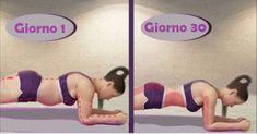 Oggi vi parleremo della sfida che sta facendo il giro del mondo: la sfida del plank grazie alla quale è possibile trasformare il proprio corpo ed in particolare asciugare la pancia praticando, ogni giorno per 30 giorni un semplice esercizio, senza interruzione.