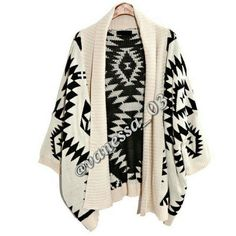 (Off) White and Black Cardigan Knit Cardigan. Loose Open Front Sweater. Outwear Coat.  Draped Cable Knit  PRICE FIRM UNLESS BUNDLED. These are NWOT RETAIL Sweaters