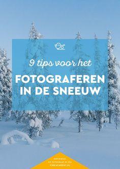 Wil je fotograferen in de sneeuw? Lees dan de tips voor sneeuw fotograferen. Sneeuwfoto's maken vereist de juiste instellingen en een goede compositie