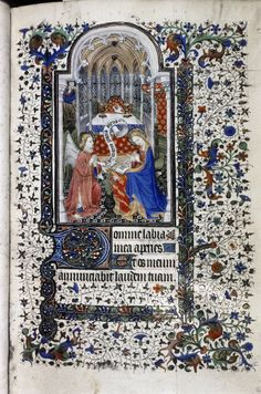 Bodleian, ms Liturg. 100, fol. 23r, Paris, Heures à l'usage de Paris, c. 1420-1430,