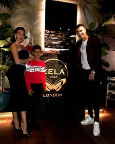 Cristiano Ronaldo with Family