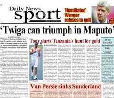 DailyNews Online Edition - Daily News | Tanzania's Leading Online News Edition