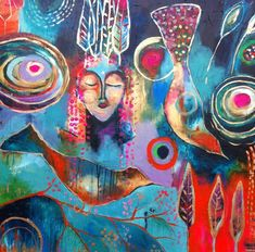 flora bowley...Love her paintings...there is such a freedom about them !